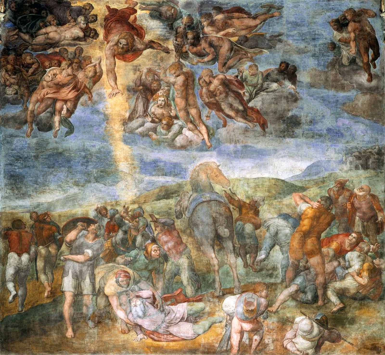 a description of michelangelo di lodovico buonarroti simoni as more than a painter Michelangelo di lodovico buonarroti simoni, more commonly known as michelangelo was born on march 6, 1475 in the art world, his name is.